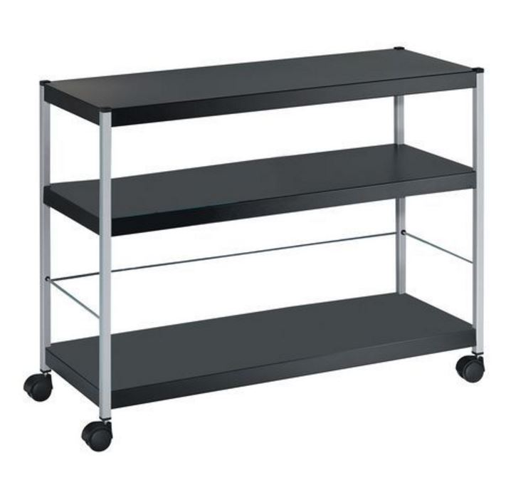 Fast Paper Mobile 3 Shelf Trolley Extra Large