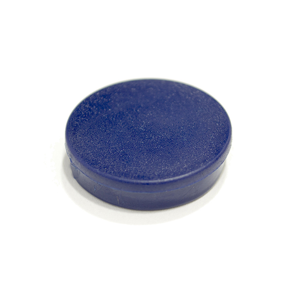Magnets Bi-Office Round Magnets 10mm Blue PK10