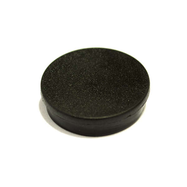 Magnets Bi-Office Round Magnets 10mm Black PK10