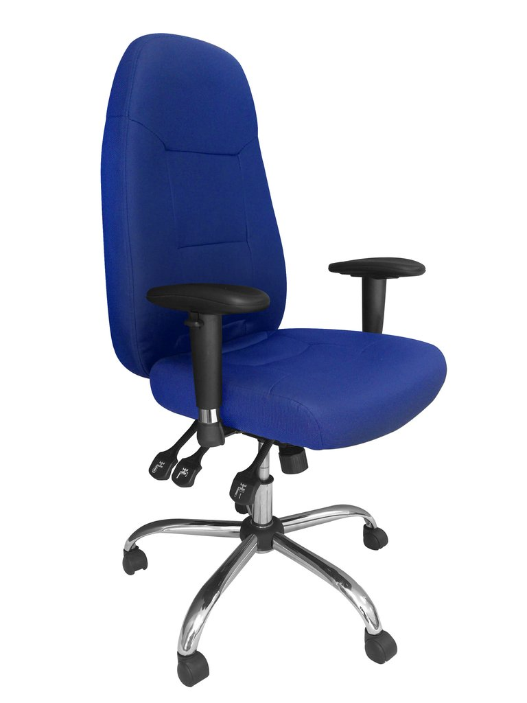 24 Hour Operator Chair Fabric BL