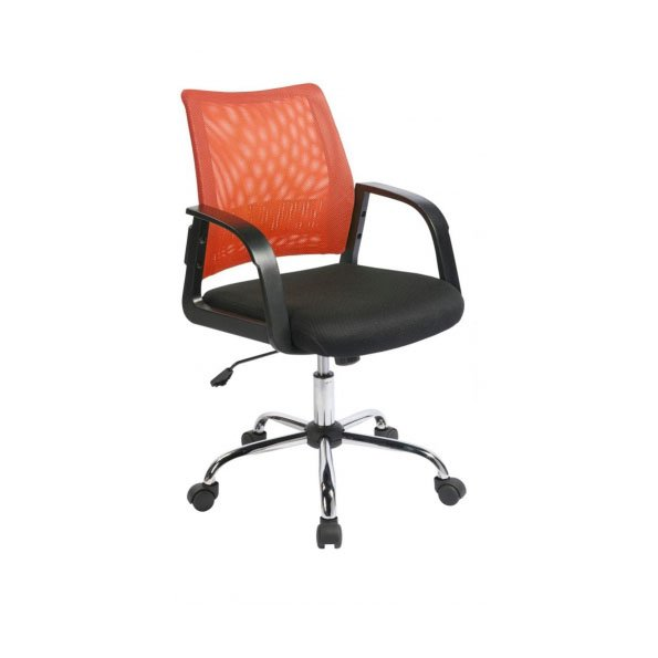 Calypso Mesh Back Task Operator Armchair Orange
