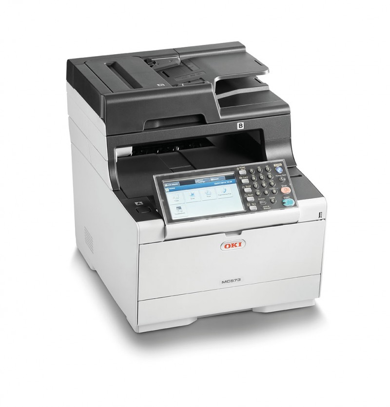 Laser Printers OKI MC573dn LED Multifunction Printer