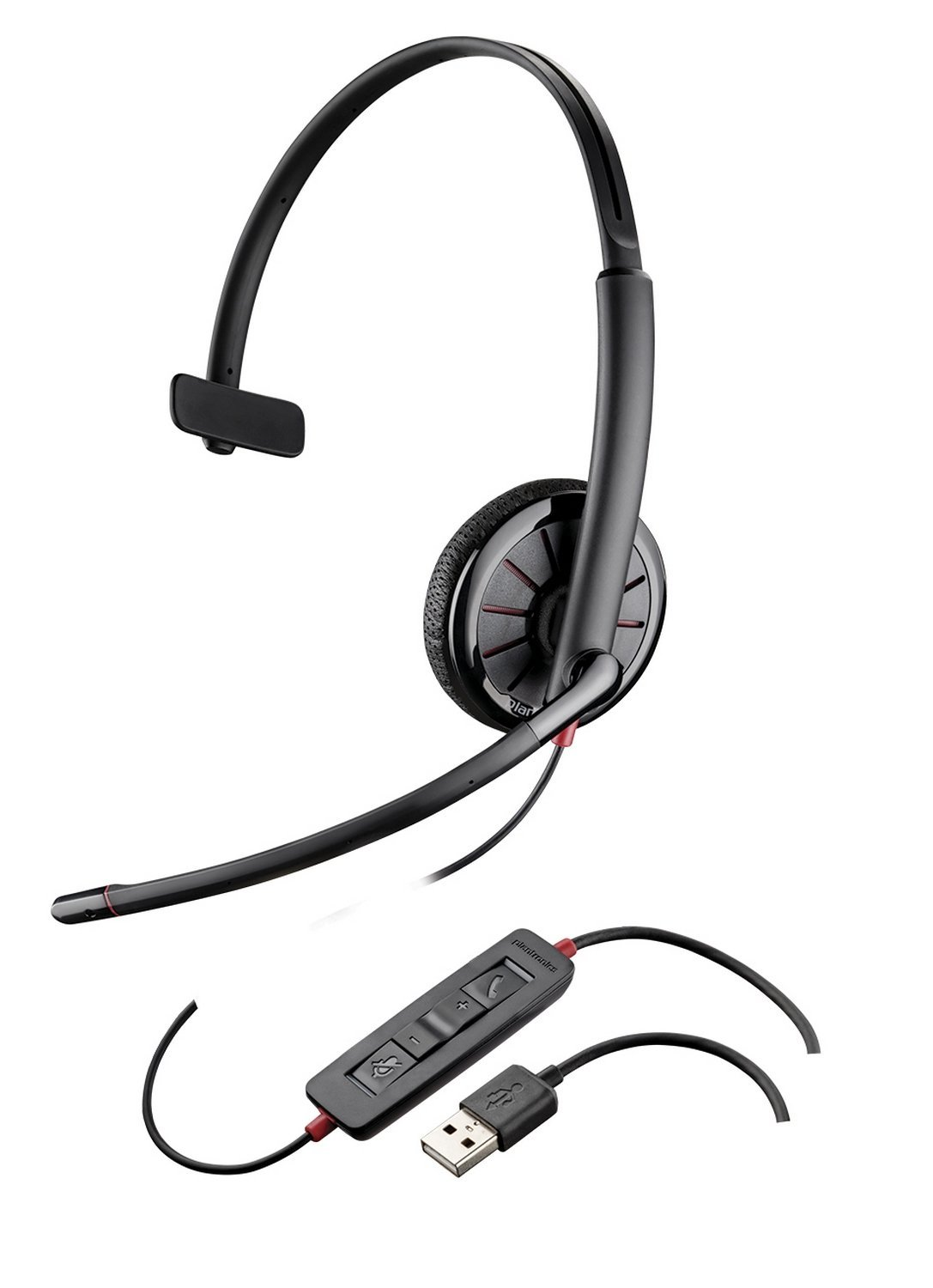 Plantronics C315-Monaural USB and 3.5mm
