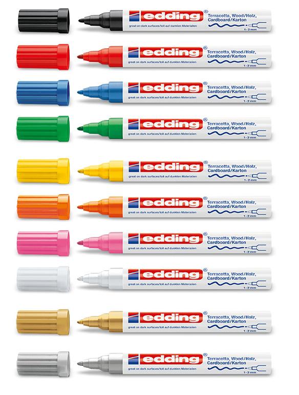 Edding 4040 Paint Marker ASTD PK10