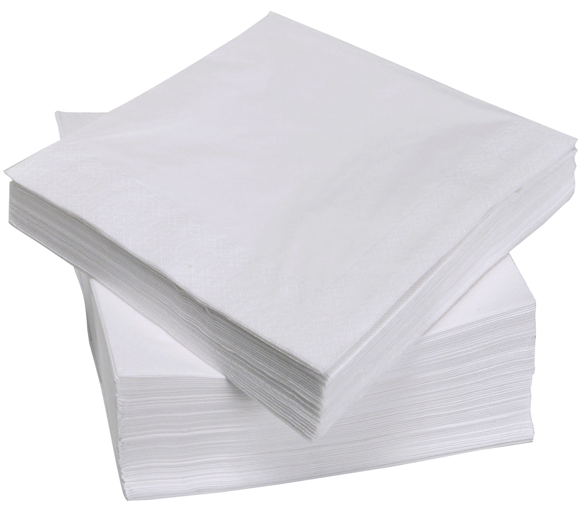 Serviettes / Napkins ValueX White Napkins 33cm 2ply (Pack 100)