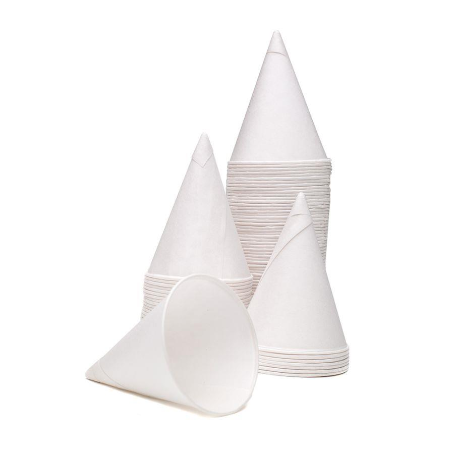 Disposable Cups & Accessories ValueX 4oz Water Cones (Pack 5000)