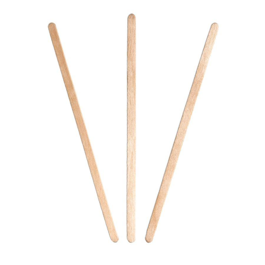 Cutlery ValueX Wooden Stirrers 140mm (Pack 1000)