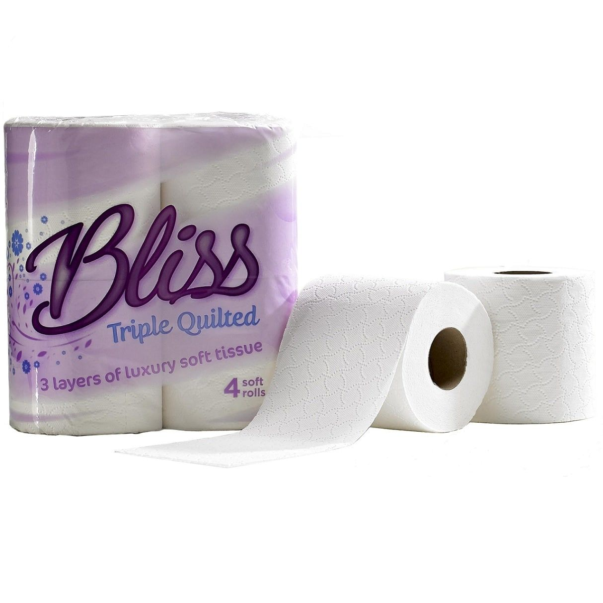 Toilet Tissue & Dispensers ValueX White Toilet Roll 3ply (Pack 40)