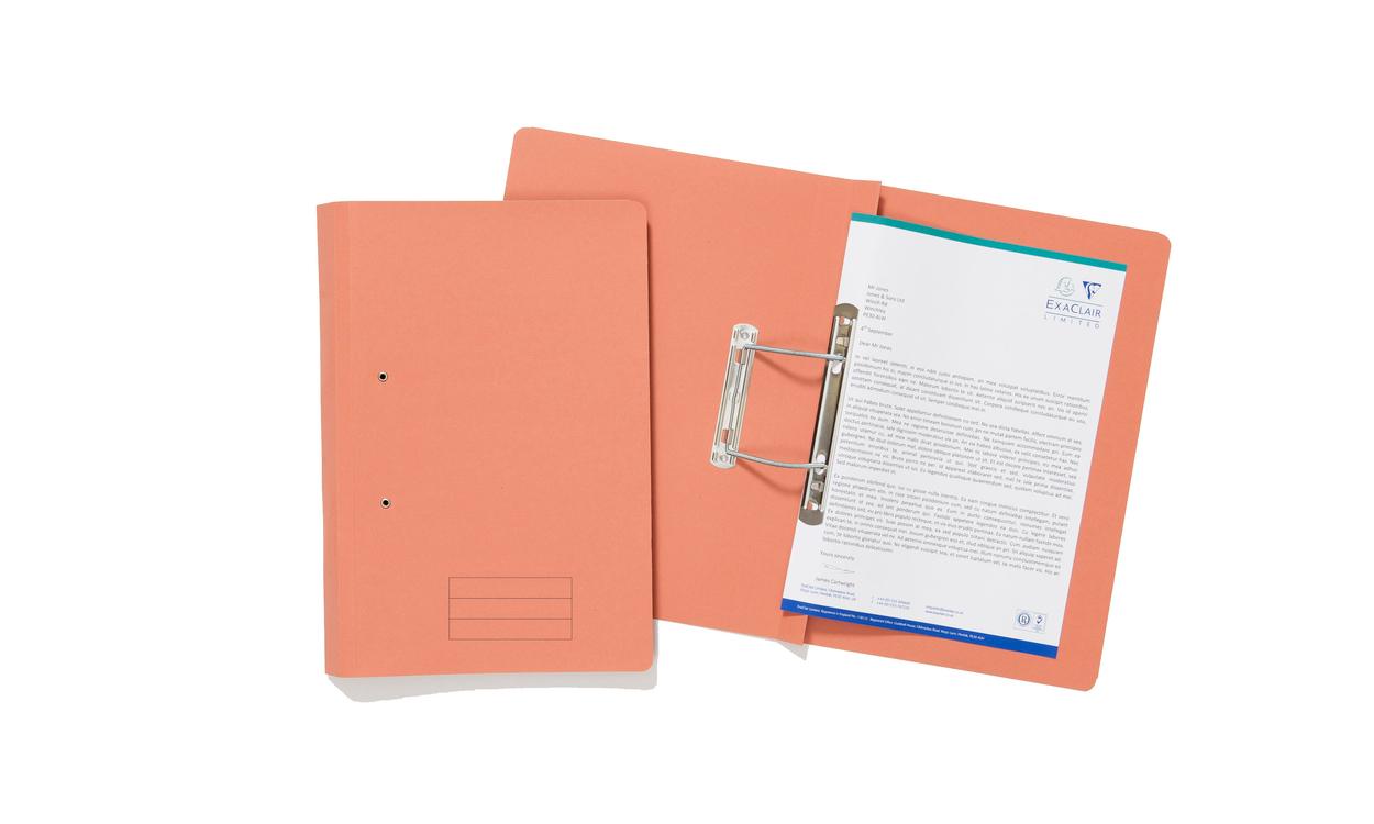 Value Transfer File Foolscap Orange TFM-ORGZ - (PK25)