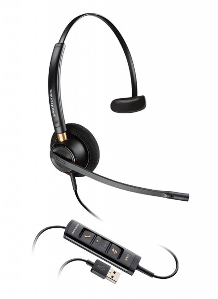 Headsets Plantronics ENCOREPRO HW515 Monaural Headset