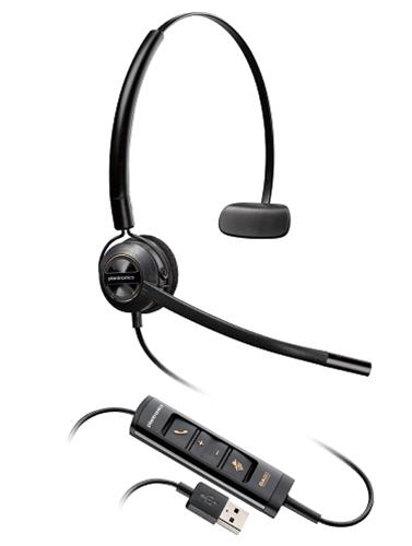 Headsets Plantronics EncorePro HW545 Monaural Headset