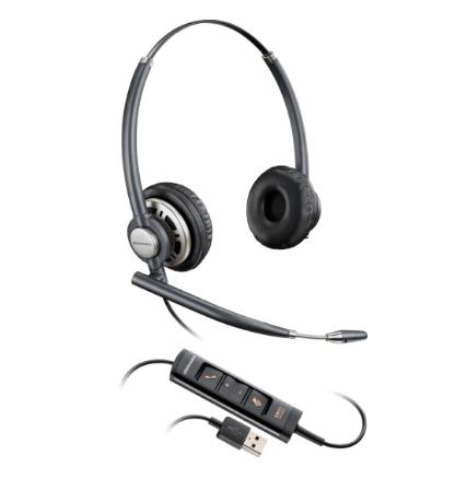 Headsets Plantronics Encorepro HW725 Binaural Headset