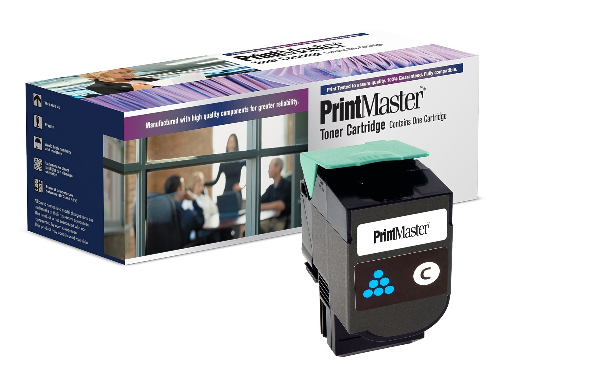 PrintMaster C540 High Yield Cyan Toner