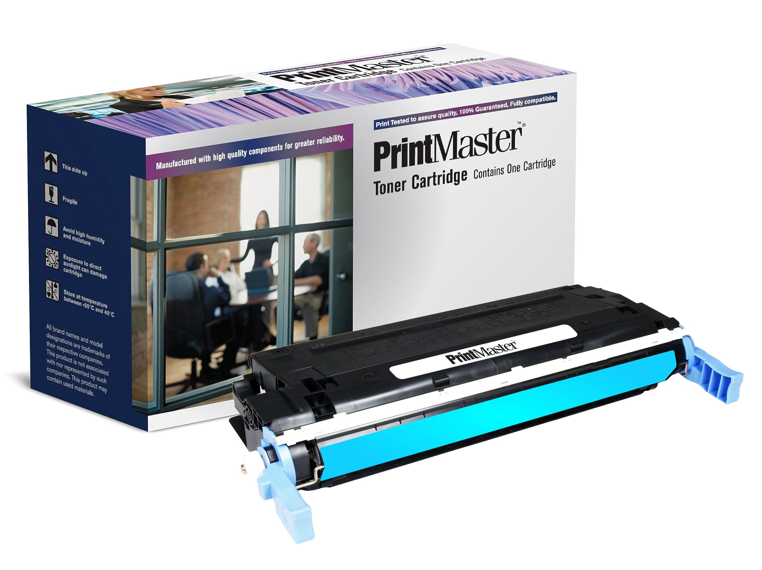 PrintMaster HP 4600/4650 Cyan C9721A