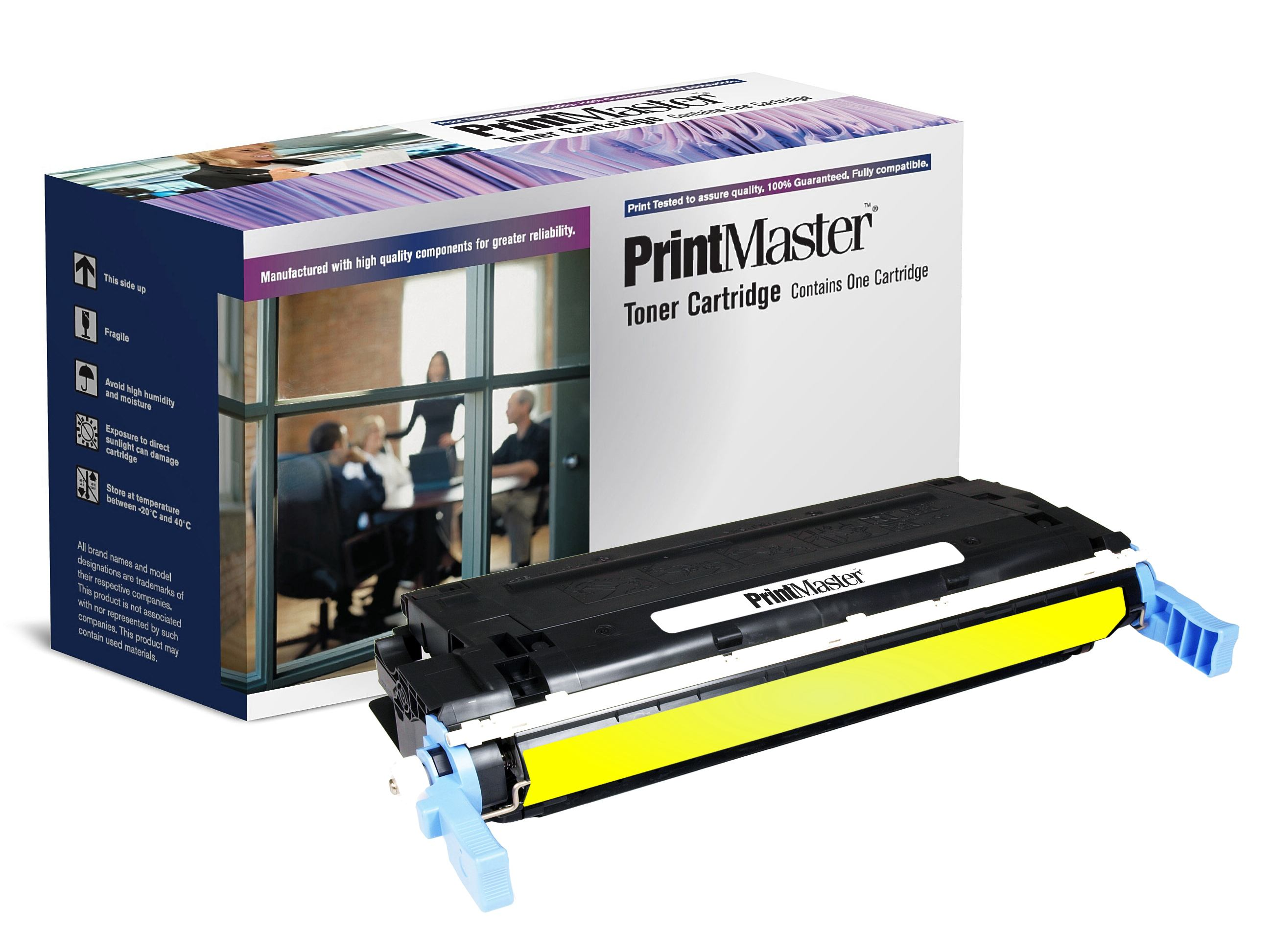 PrintMaster HP 4600/4650 Yellow C9722A