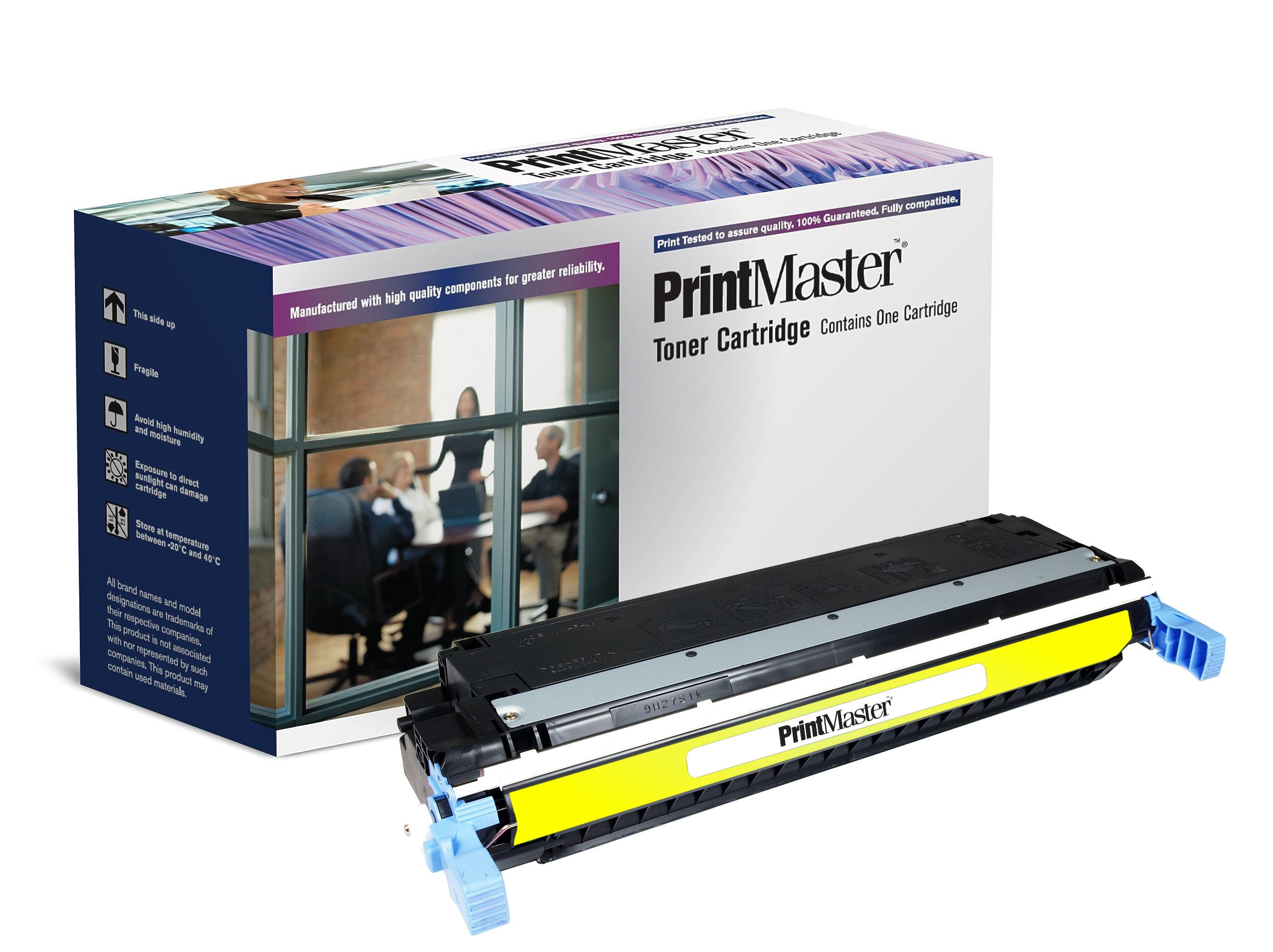 PrintMaster HP 5500 Yellow C9732A
