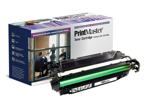 PrintMaster HP CP4525 Black High Capacity