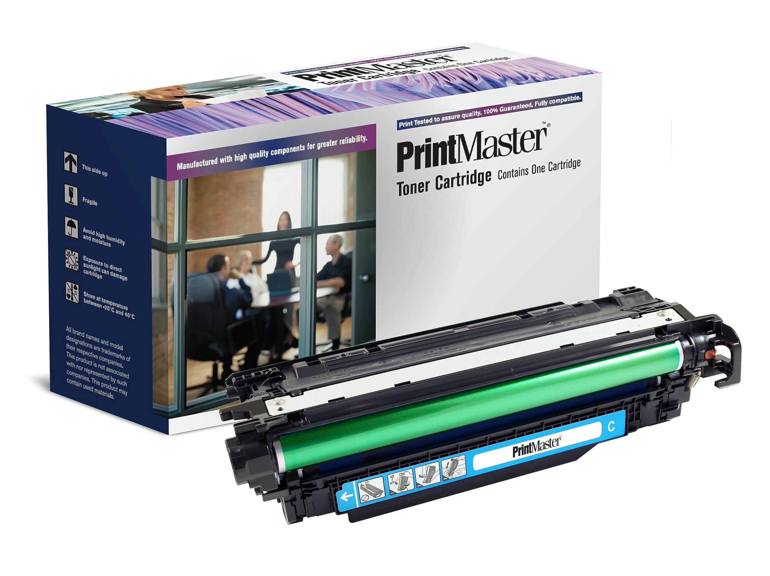 PrintMaster HP CP4525 Cyan 11K