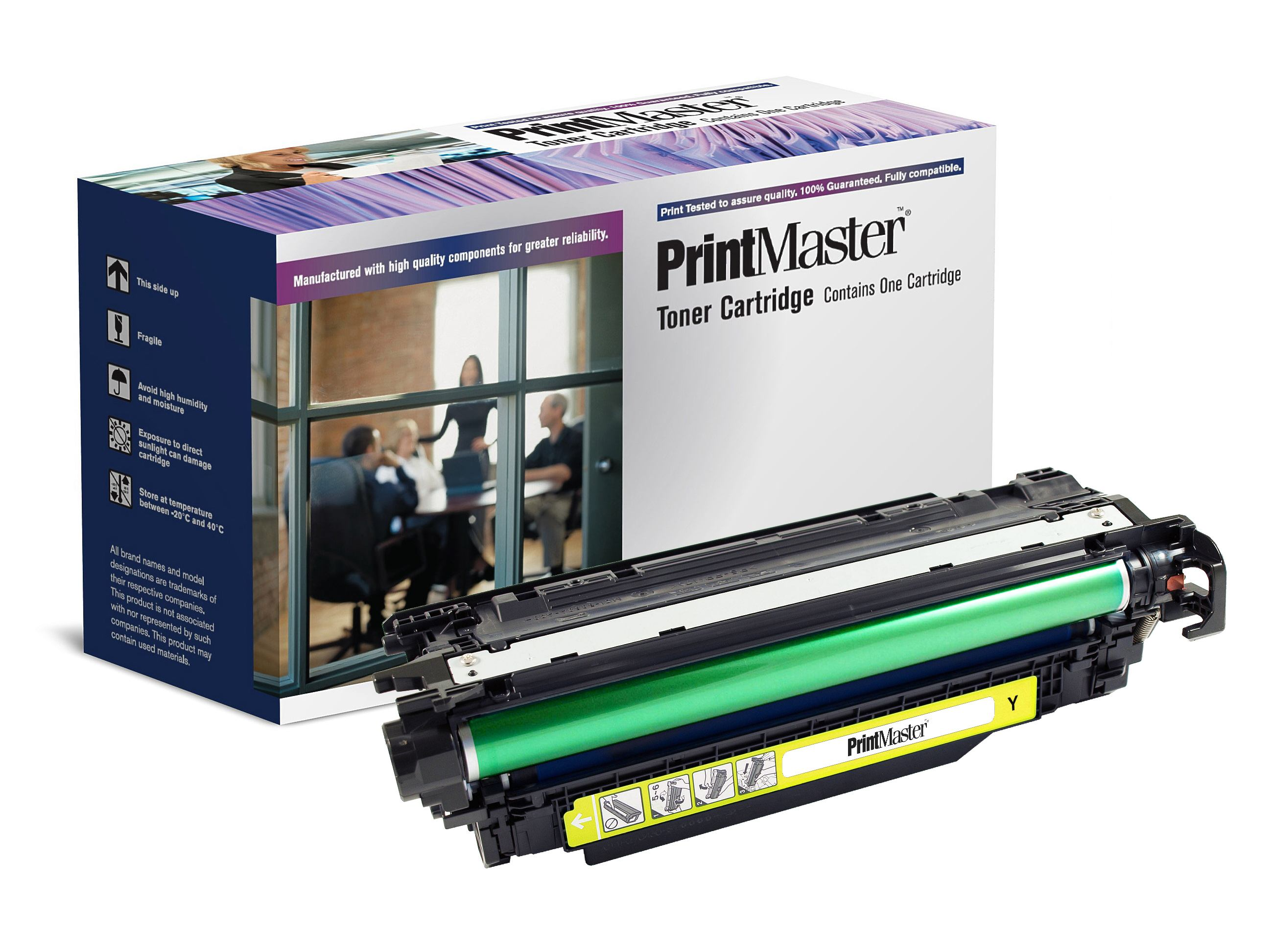 PrintMaster HP CP4525 Yellow 11K