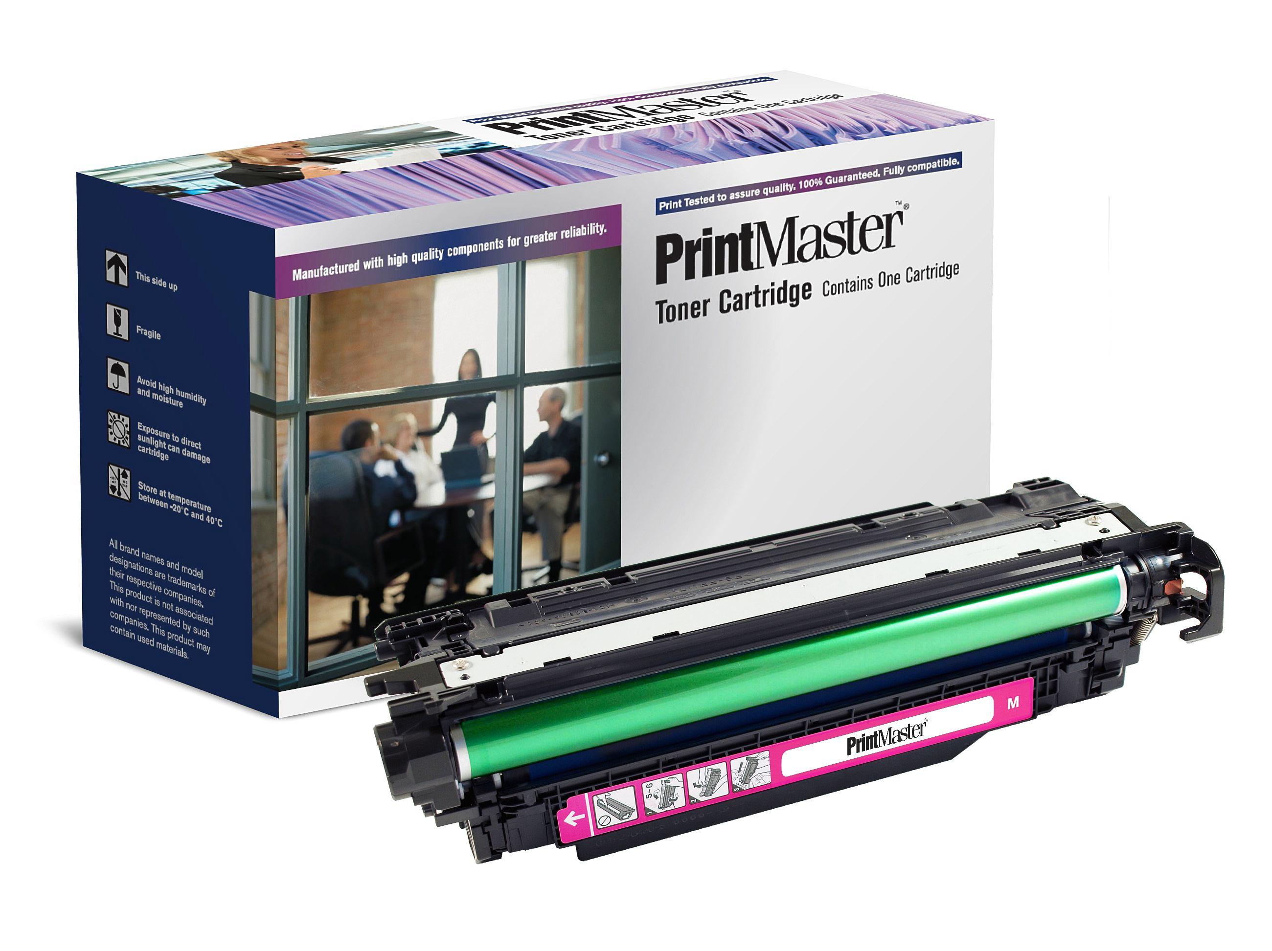 PrintMaster HP CP4525 Magenta 11K