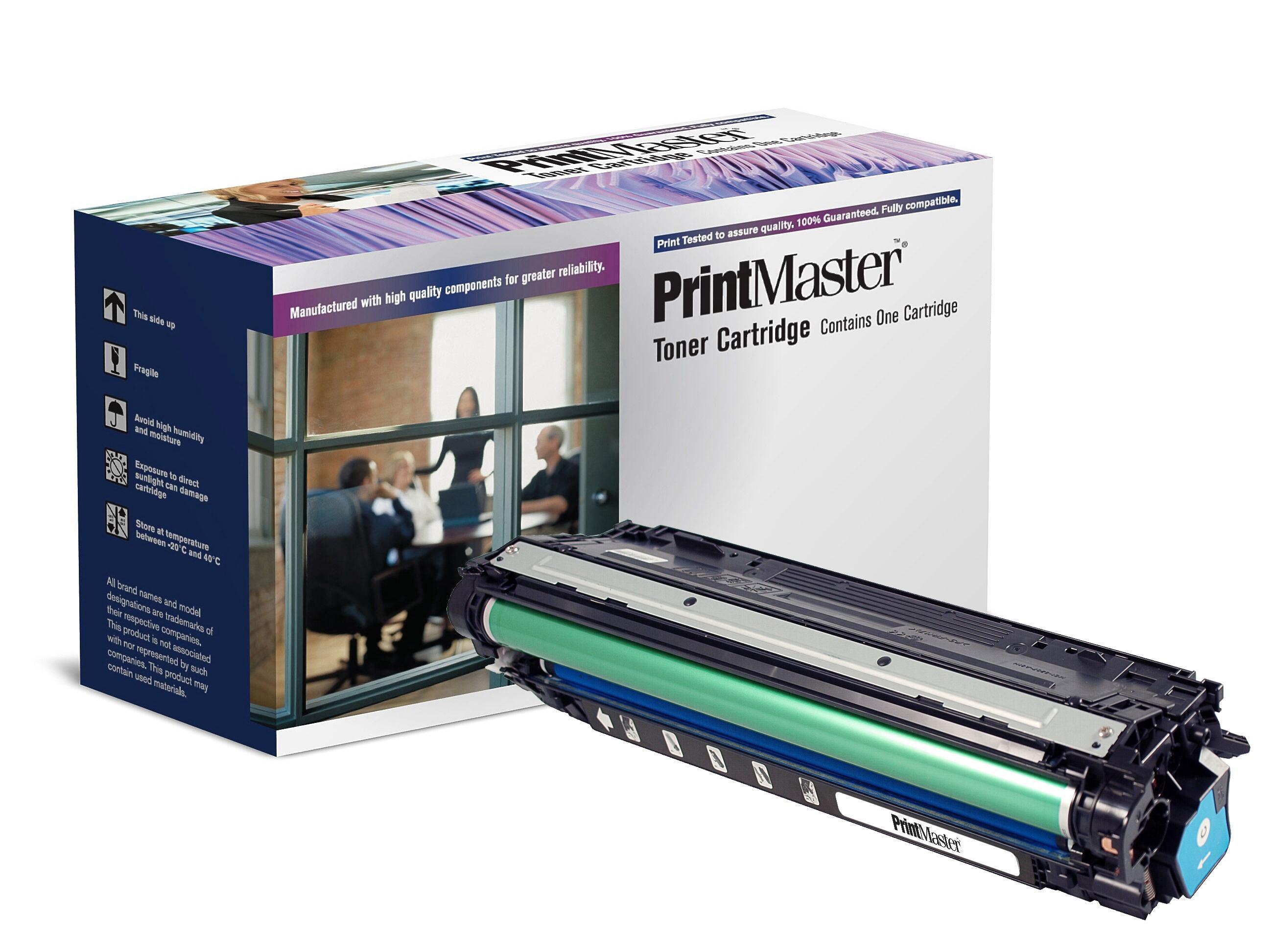 PrintMaster Cyan Toner LJ 5525