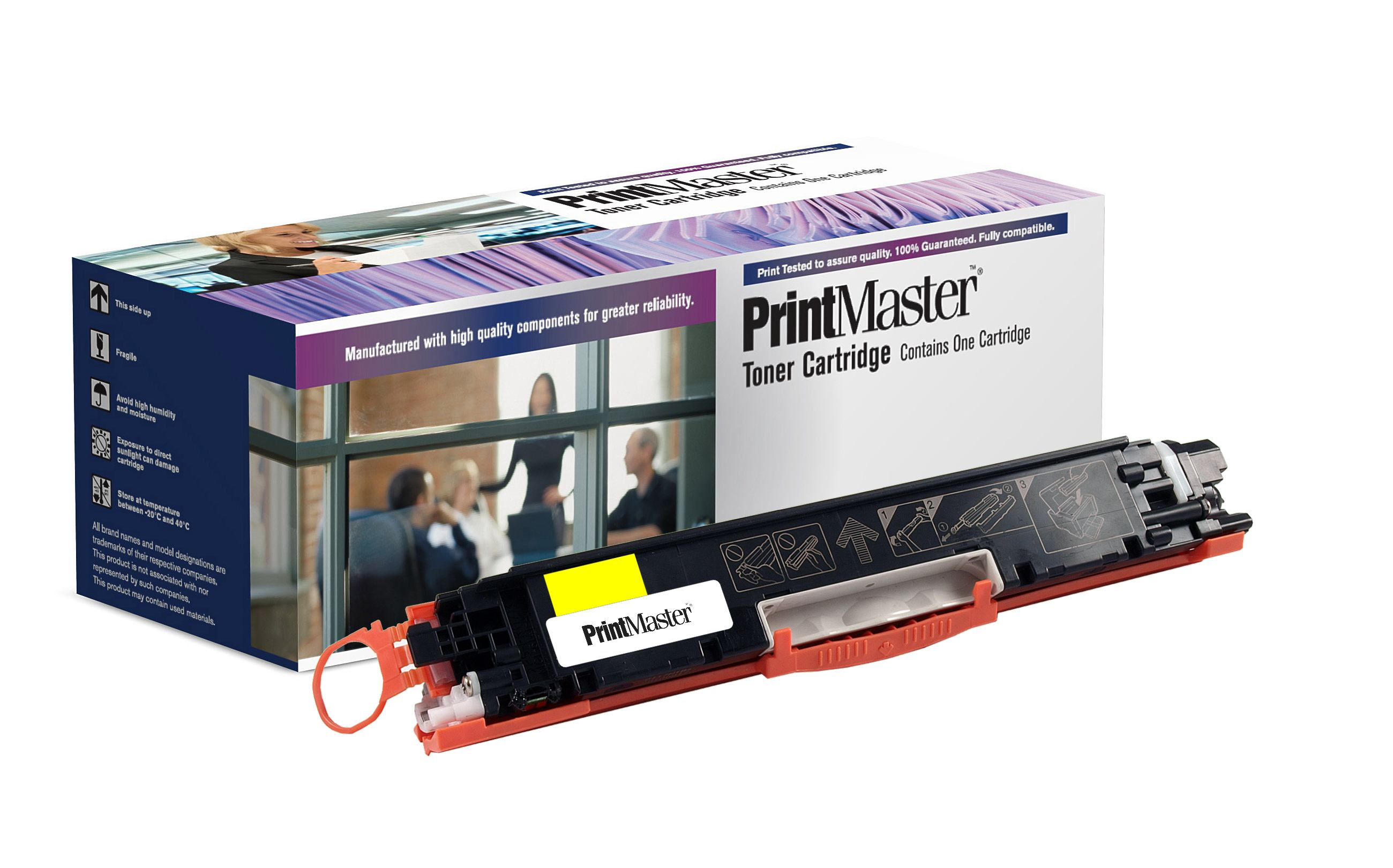 PrintMaster HP Yellow Toner CP1025