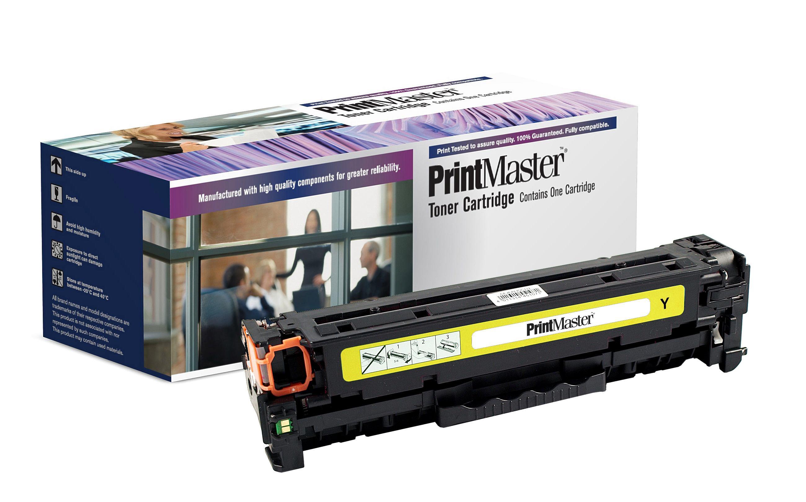 PrintMaster HP M251 Yellow Toner 1.8K