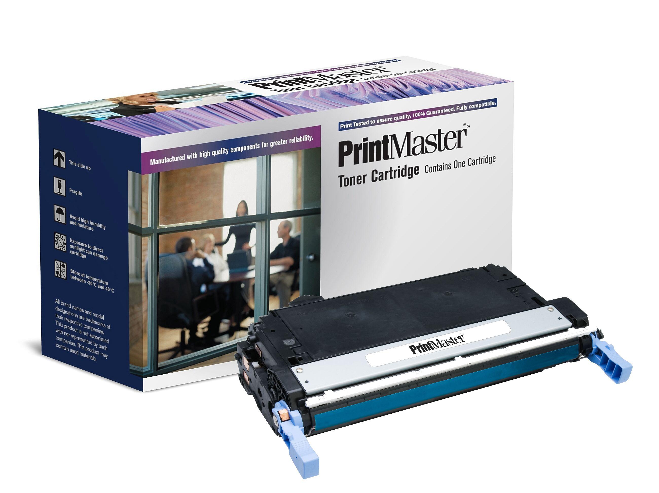 PrintMaster HPLJ 4730 Cyan 12K Q6461A