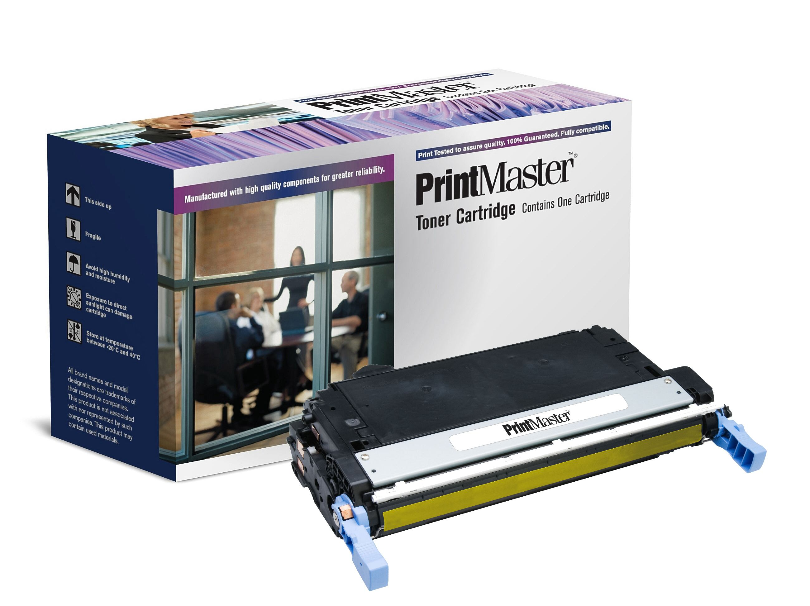 PrintMaster HPLJ 4730 Yellow 12K Q6462A