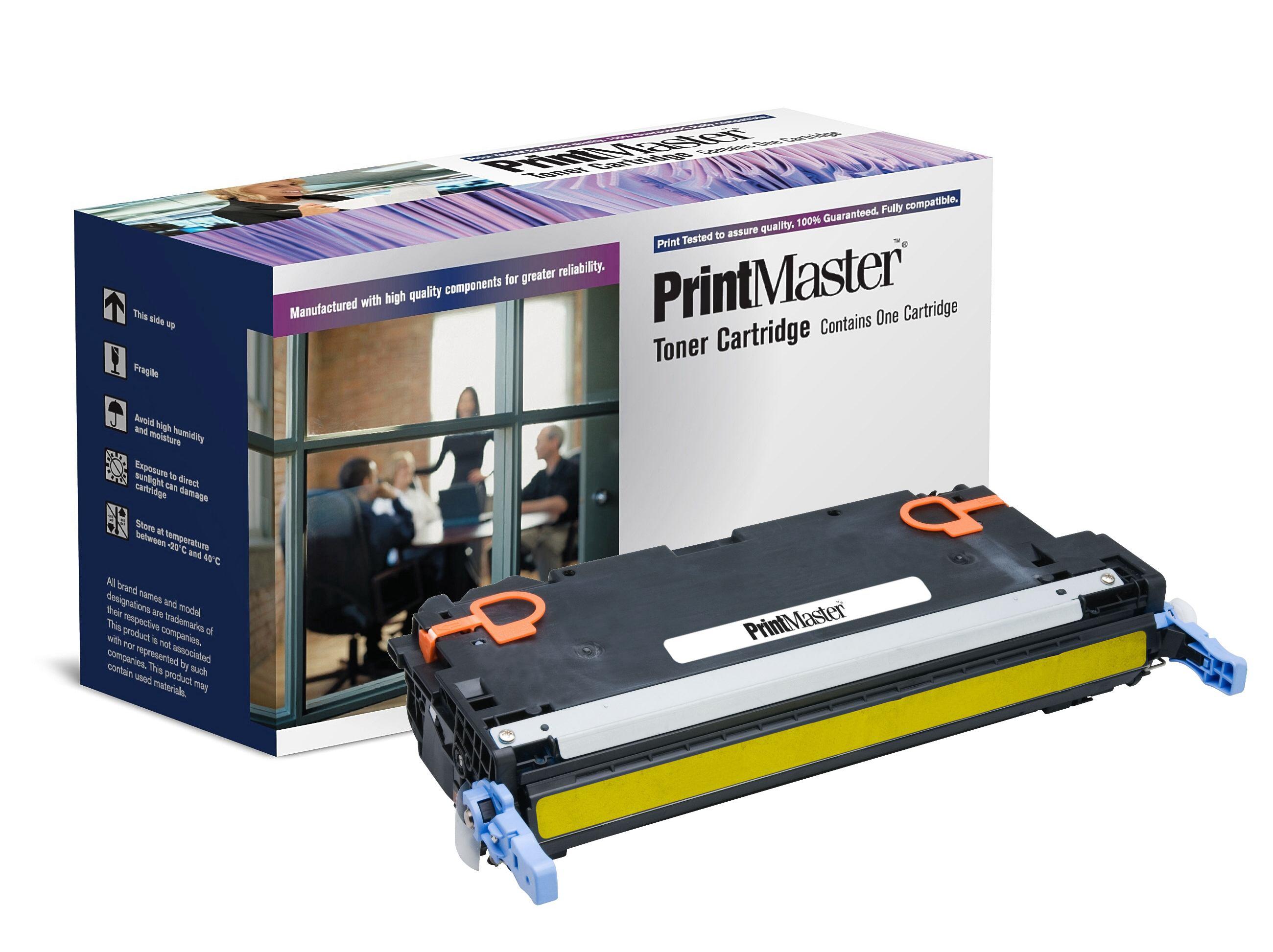 PrintMaster HP LaserJet 3800 Yellow 6K Q7582A