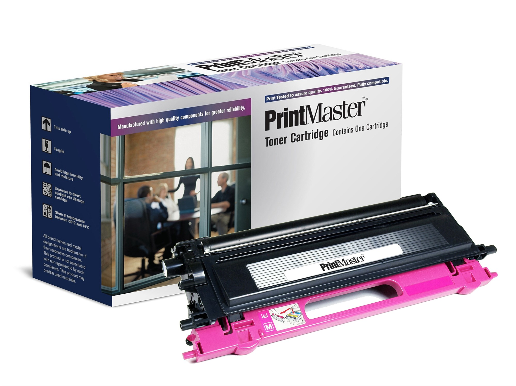 PrintMaster Brother HL4050 Magenta 4K TN135M