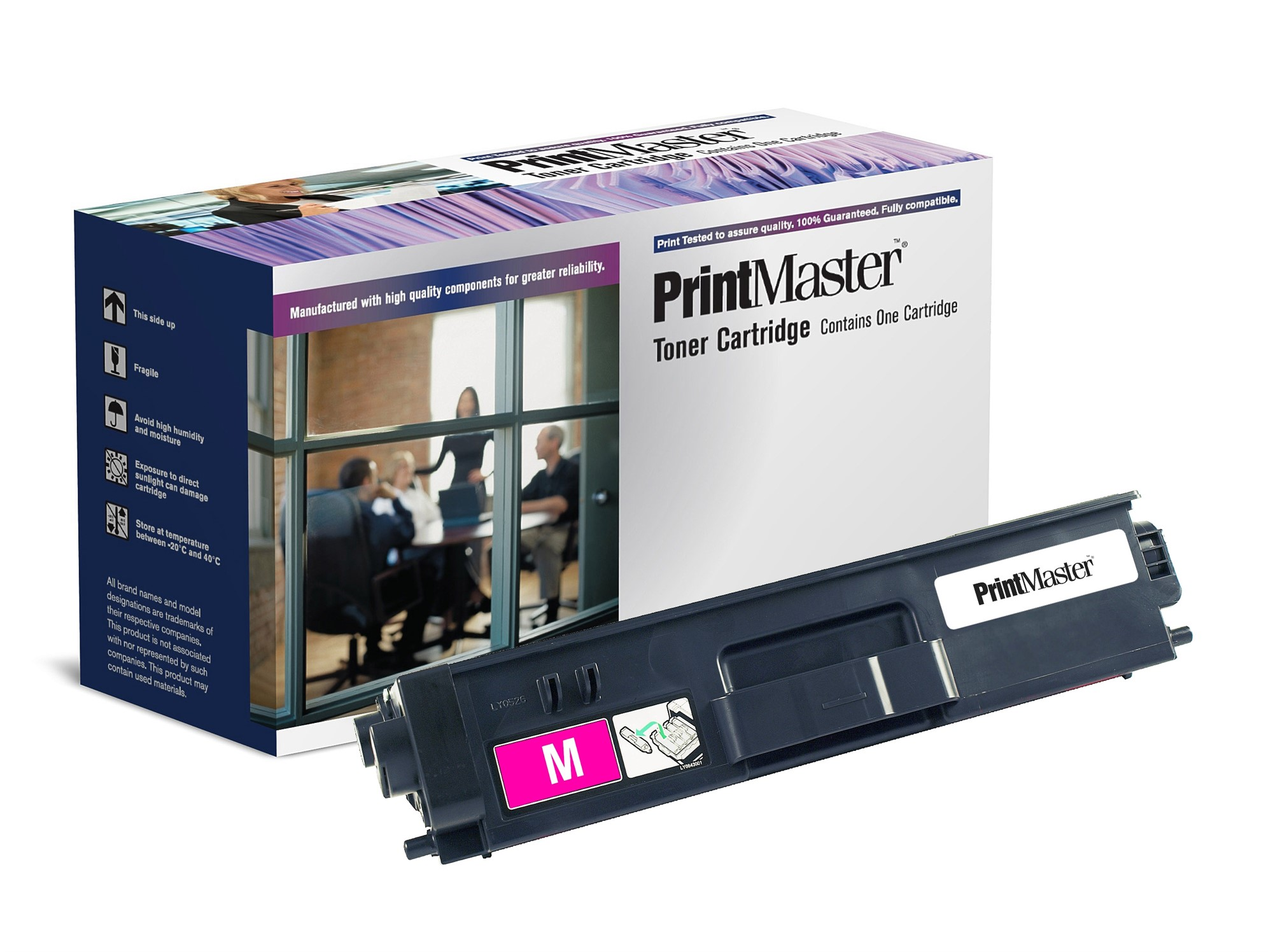 PrintMaster Brother Magenta Toner TN325M