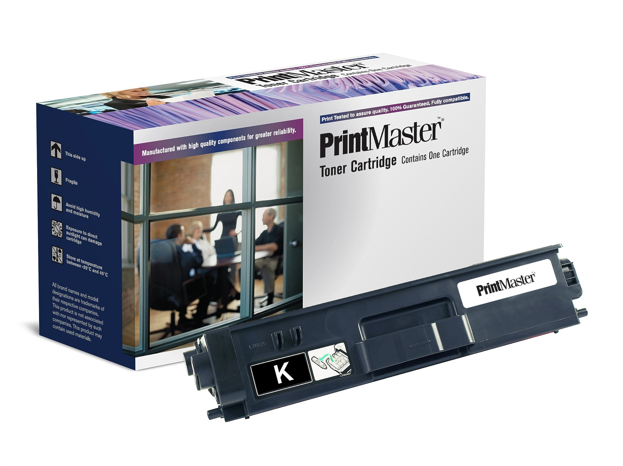 PrintMaster Brother MFC9970CDw/DCP9270 Black Toner 6K