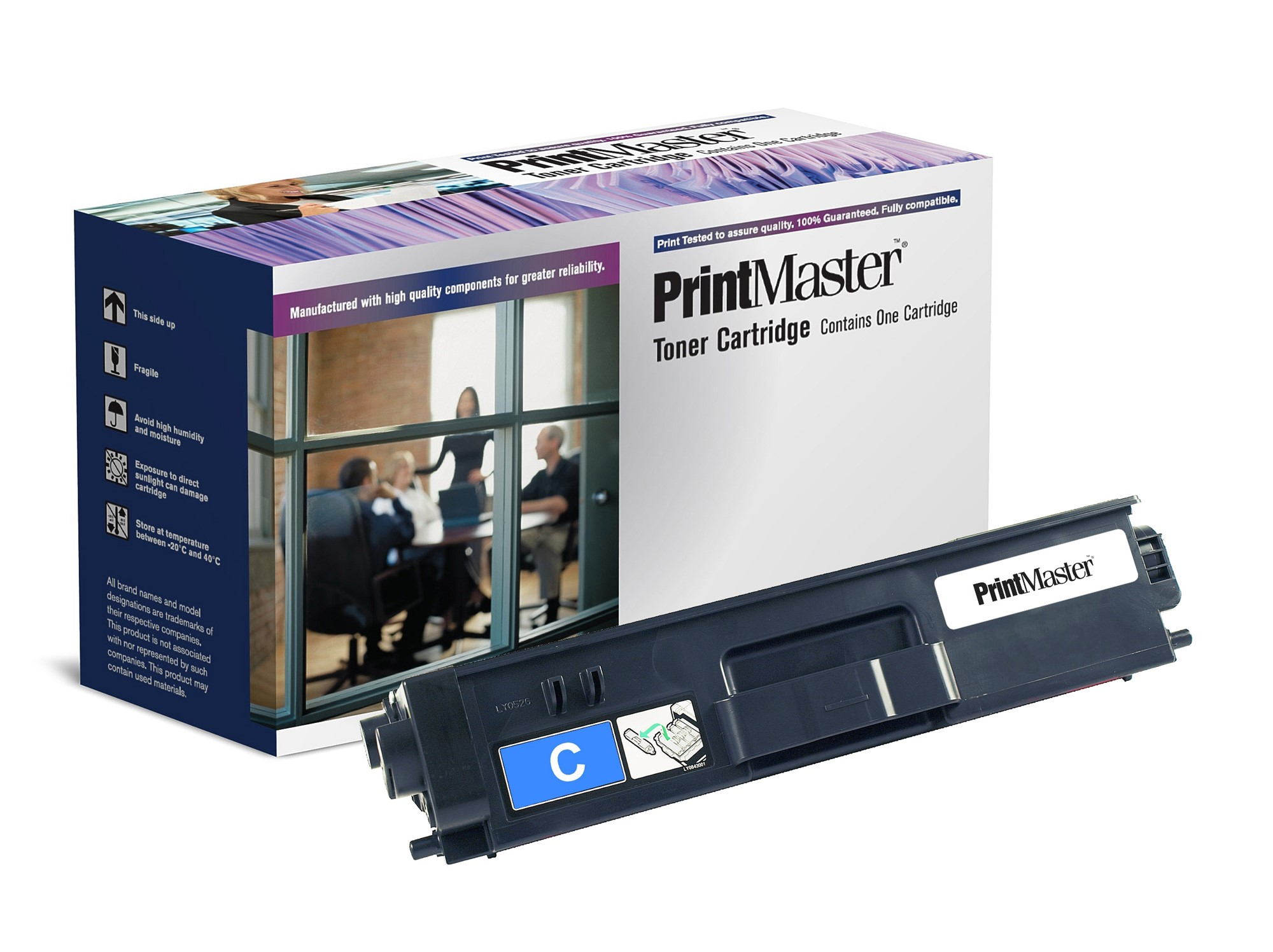 PrintMaster Brother MFC9970CDw/DCP9270 Cyan T 6K