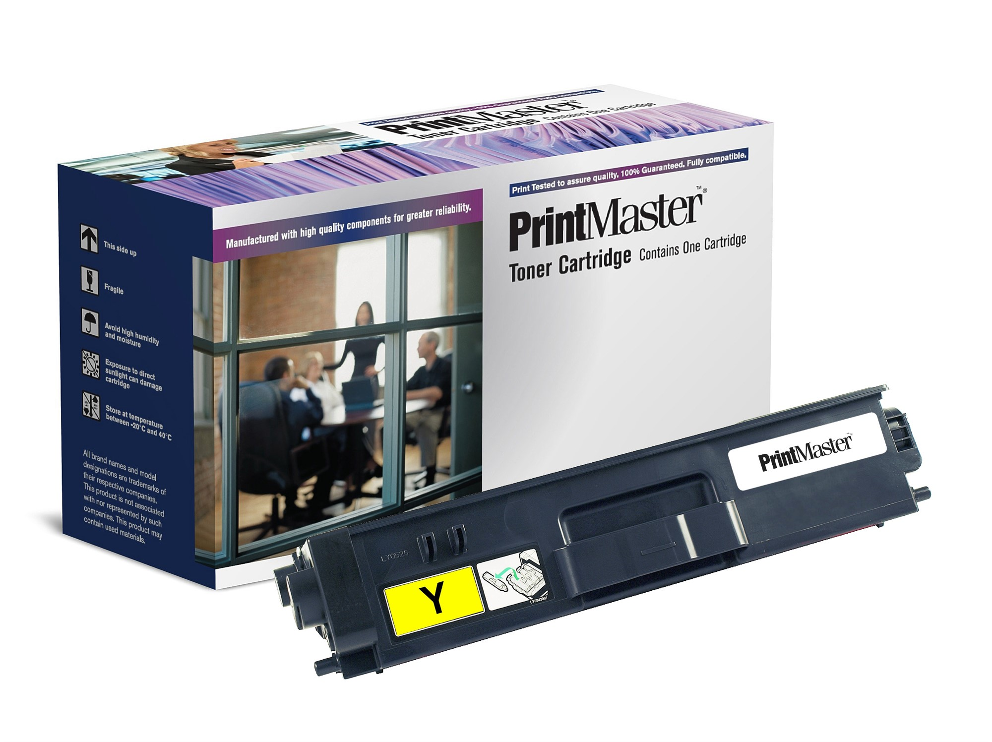 PrintMaster Brother MFC9970CDw/DCP9270 Yellow Ton