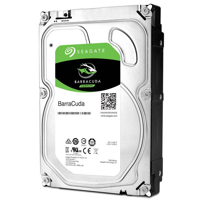 Seagate 1TB Internal BarraCuda SATA 3.5 HDD