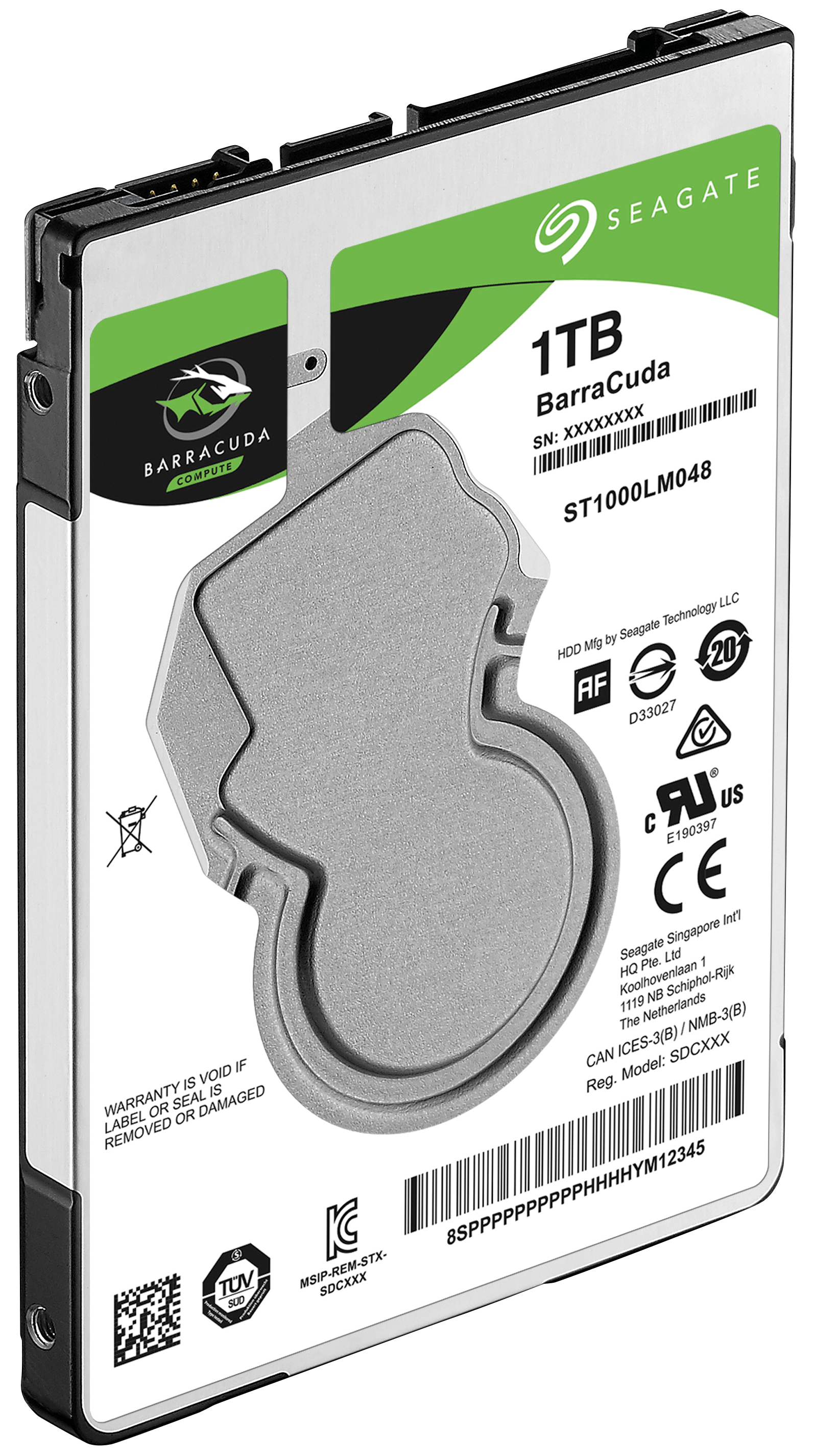 Seagate 1TB Internal BarraCuda SATA 2.5 HDD