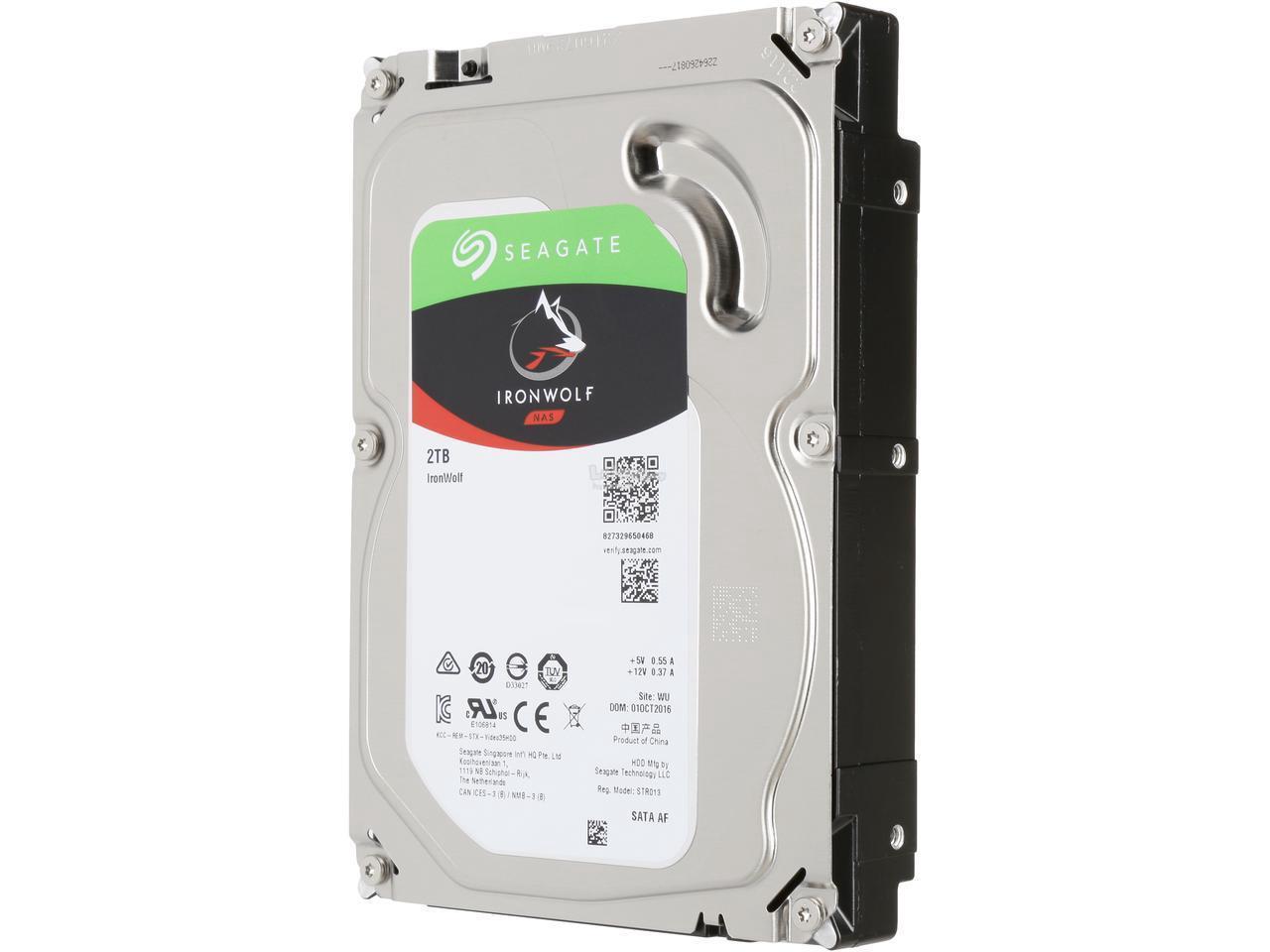 Seagate 2TB Internal IronWolf SATA 3.5 HDD