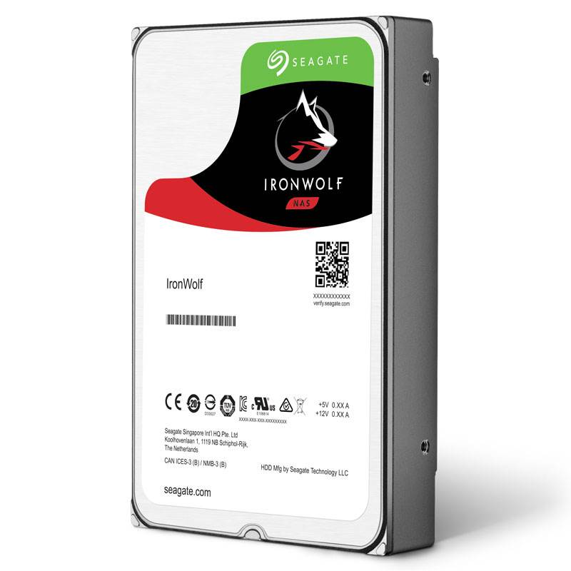 4TB Int IronWolf SATA 3.5