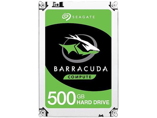 Seagate 500GB Internal BarraCuda SATA 3.5 Hard Drive