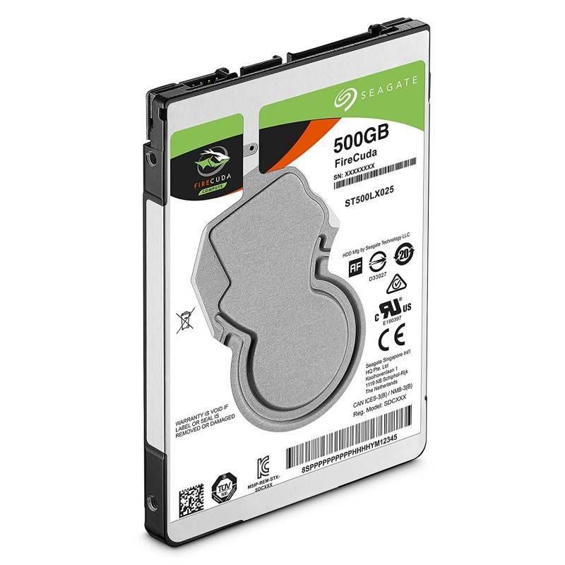 Seagate 500GB Internal FireCuda SATA 2.5 HDD