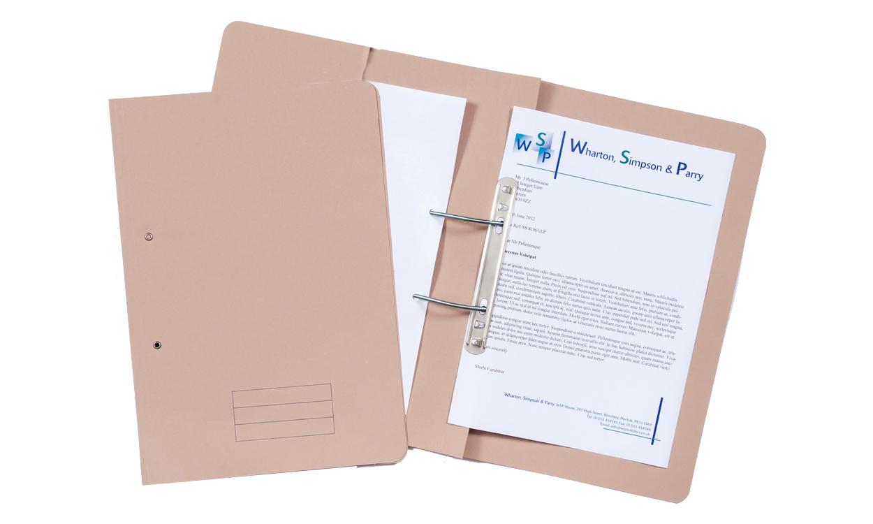 Value Transfer File Foolscap Buff(PK25)