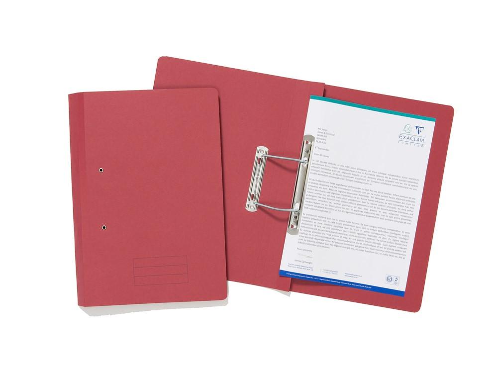 Value Transfer File Foolscap Red TFM-REDZ - (PK25)