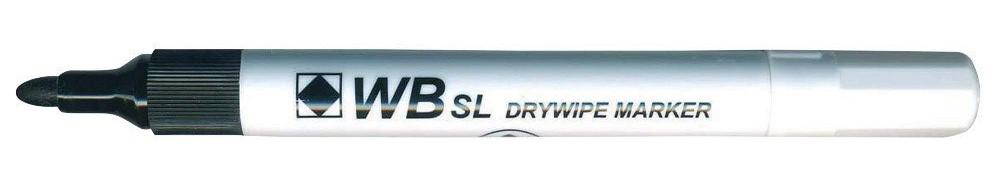 Value Drywipe Bullet Fine BK PK10
