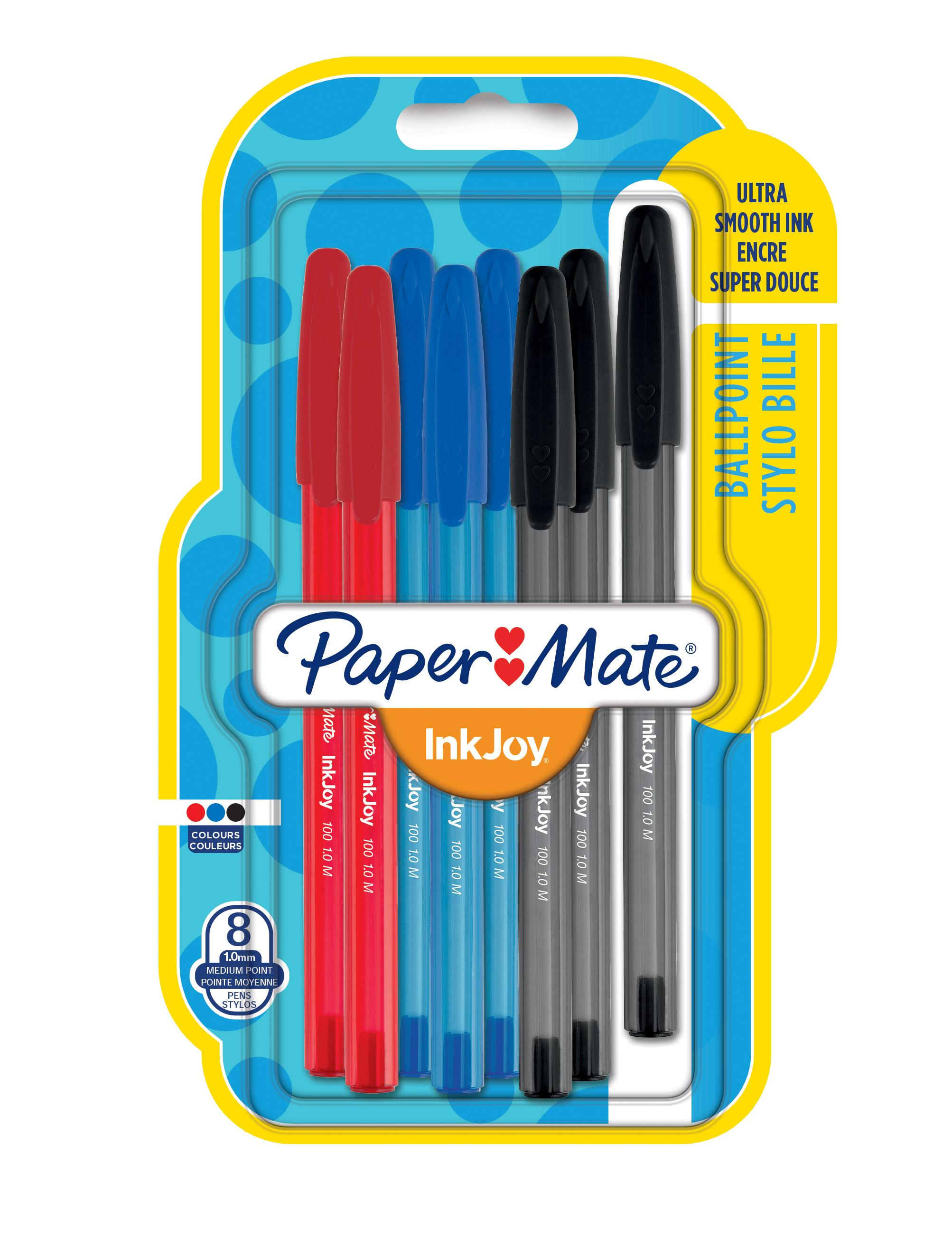 PaperMate InkJoy 100 CAP ATD PK8