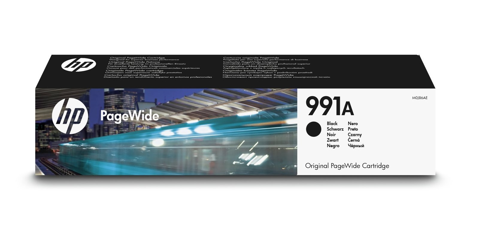 HP 991A Cyan Pagewide Cartridge