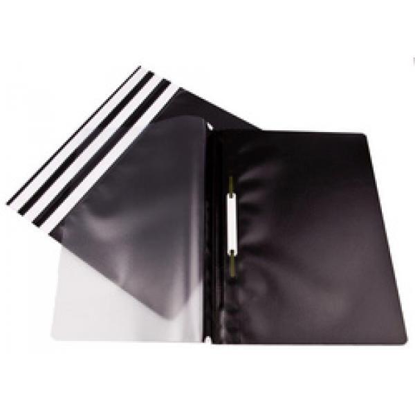 Clip Files ValueX Report Files A4 Black (Pack 25)