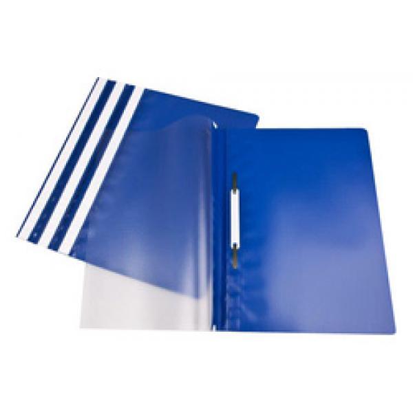 Clip Files ValueX Report Files A4 Blue (Pack 25)