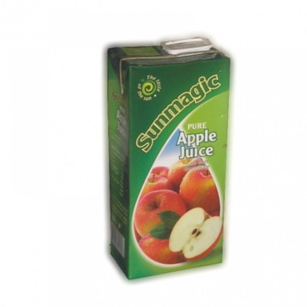 Sunmagic Tetra Pak Slim Apple 1L PK12