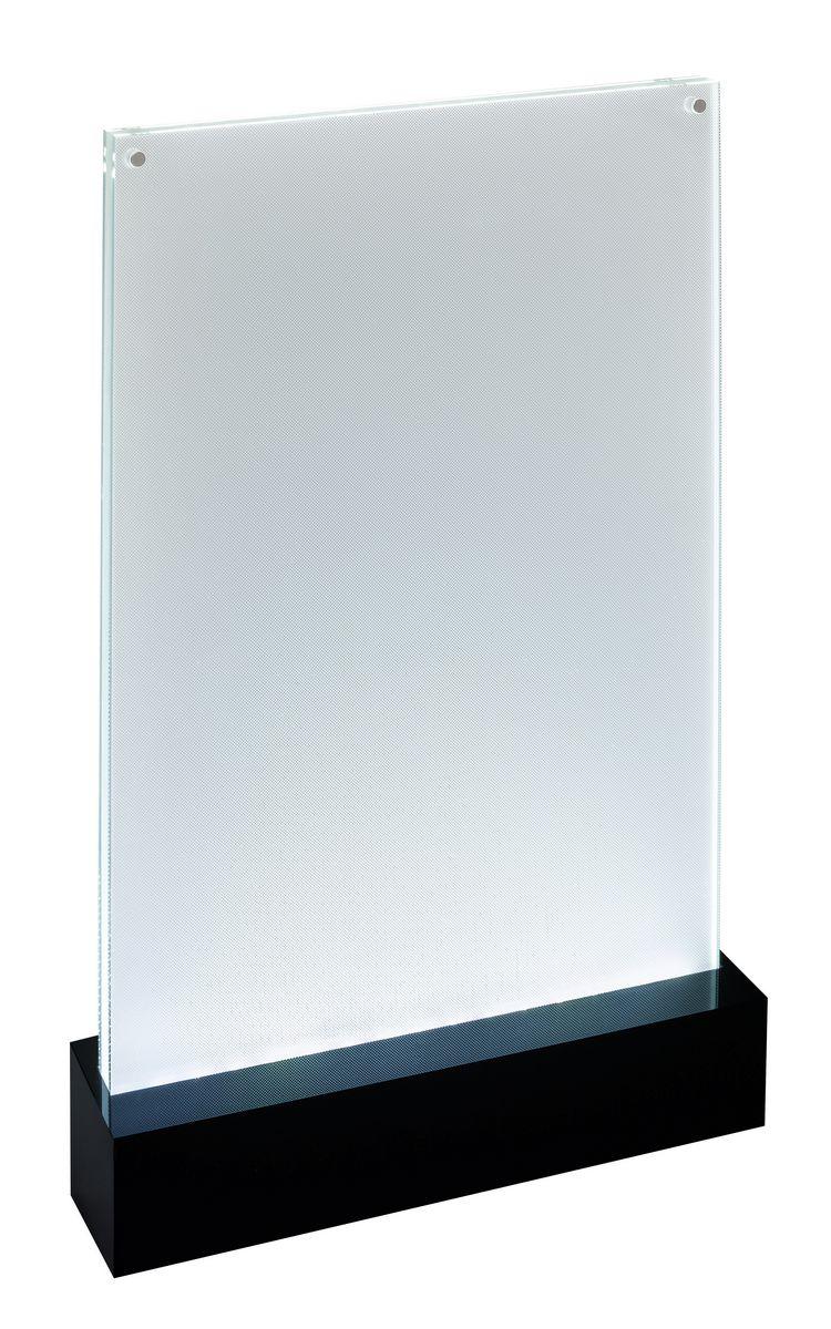 Sigel LED TableTop Disp luminous A4 BLK